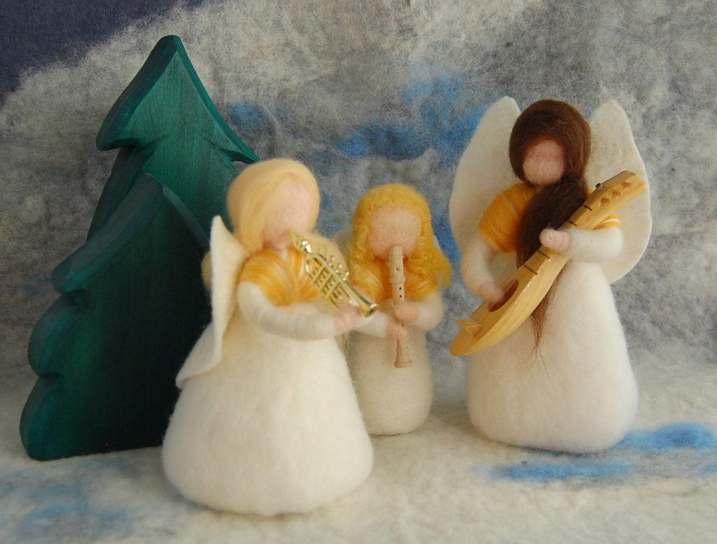 Vor Weihnachtswünsche.Weihnachtswünsche Die Wollwerkerin