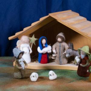 Jahreszeitentisch im Advent